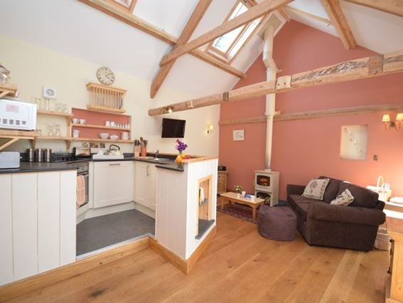 Cosy lounge/kitchen/dining area - LMIDD - Buckland Brewer - rentals