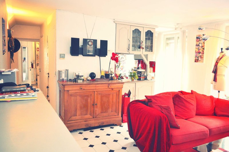 living room - parisbeapartofit - Avenue Secrétan XIX (1434) - Paris - rentals