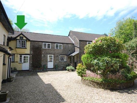 View towards the property  - CUBBY - Bradworthy - rentals
