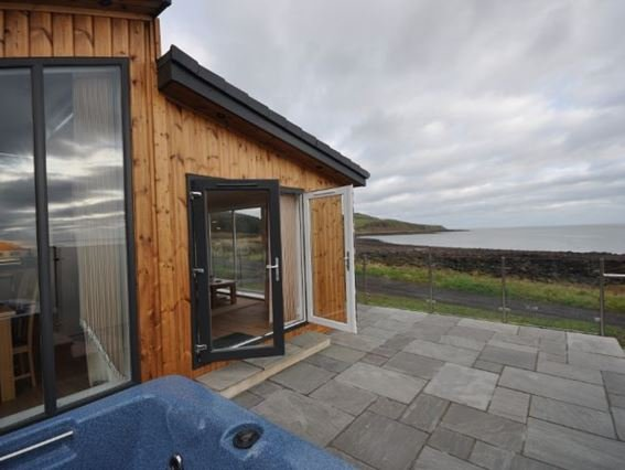View from the the lodge - RASC3 - Auchencairn - rentals
