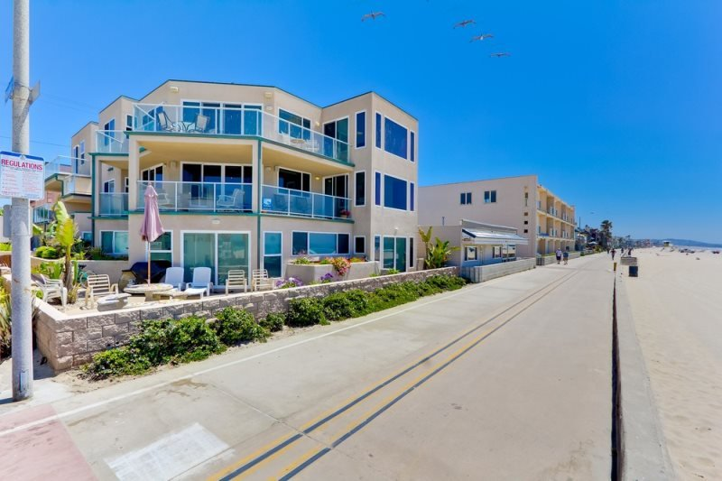 Rockaway Ocean Front Retreat I - Mission Beach - Image 1 - La Jolla - rentals
