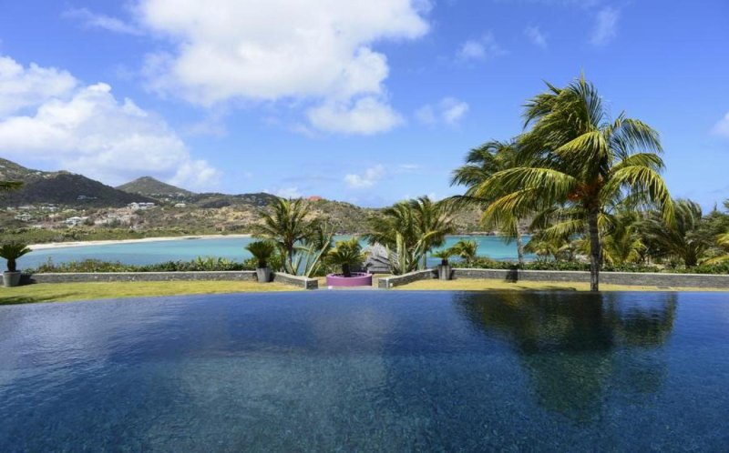 Luxury 6 bedroom St. Barts villa. Panoramic Views! - Image 1 - Petit Cul de Sac - rentals