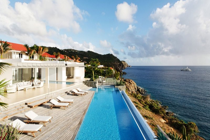 Luxury 6 bedroom St. Barts villa. Full ocean view! - Image 1 - Gustavia - rentals