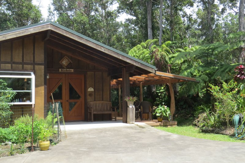 Craftsman cottage on 6 forested acres - Image 1 - Kailua-Kona - rentals