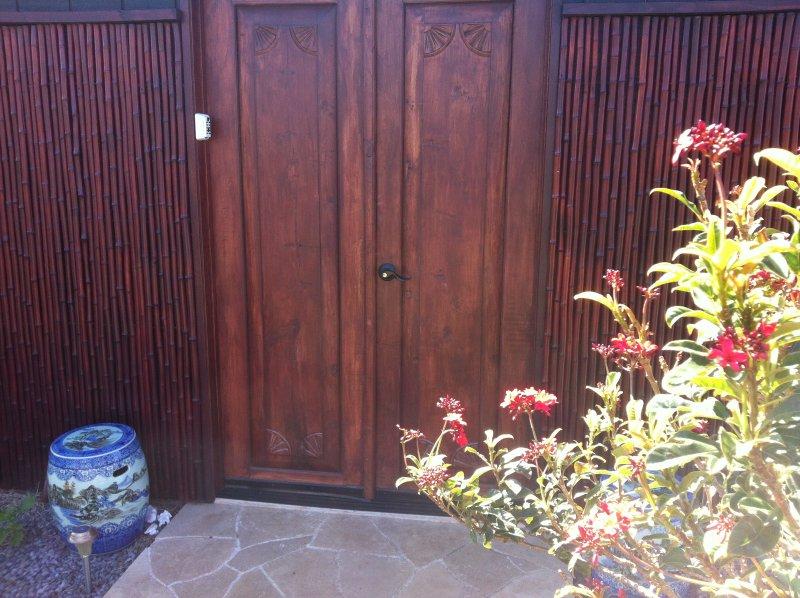 Zen Hale Entry - PRIVATE AND QUIET WAIMEA COTTAGE SLEEPS 2 - Kamuela - rentals