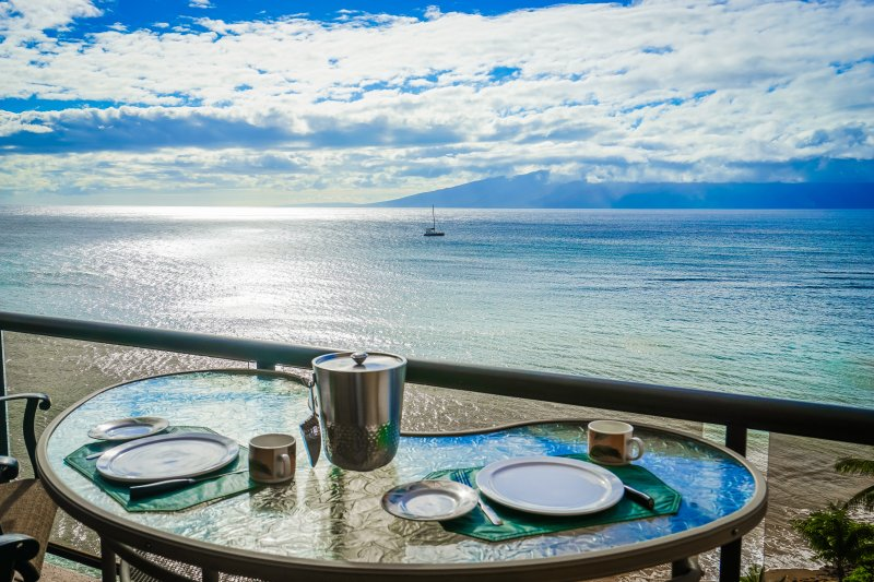 Oceanfront with Stunning Views. Large 2 Bedroom. - Image 1 - Lahaina - rentals