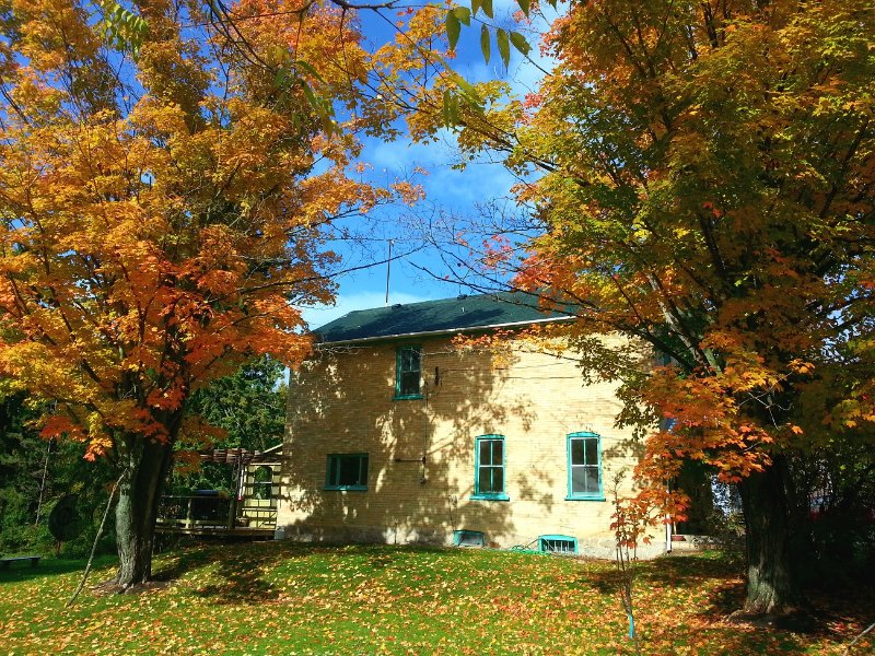 6 Bedroom Mill House Cottage next the waterfalls in little Port Albert, Ontario - Image 1 - Goderich - rentals