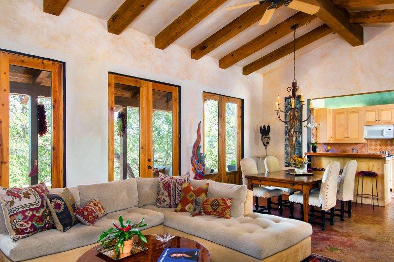Casita del Corazon: 1100 sq. ft. Private Retreat - Image 1 - Santa Fe - rentals