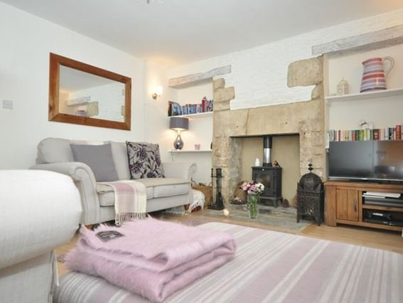 Lounge with cosy woodburner - COTTP - Tetbury - rentals