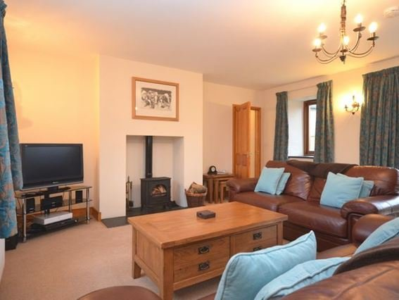 Lounge with cosy fire - ROSEB - Wendron - rentals