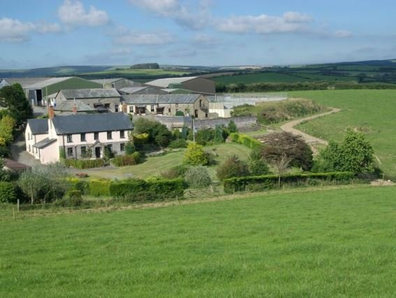 View towards the farm  - NORCL - South Molton - rentals