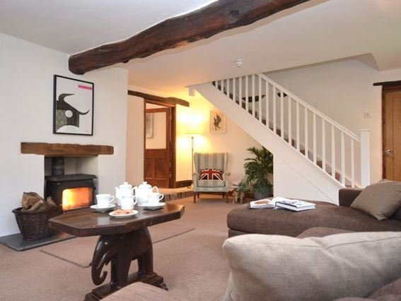 Cosy lounge with woodburner - DUCKC - Bittadon - rentals