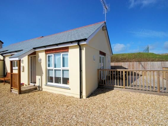 The property and private decked area - CASAP - Bude - rentals