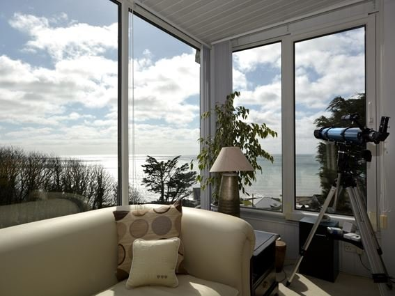 Sun room with stunning views out to sea - FCH31922 - Downderry - rentals