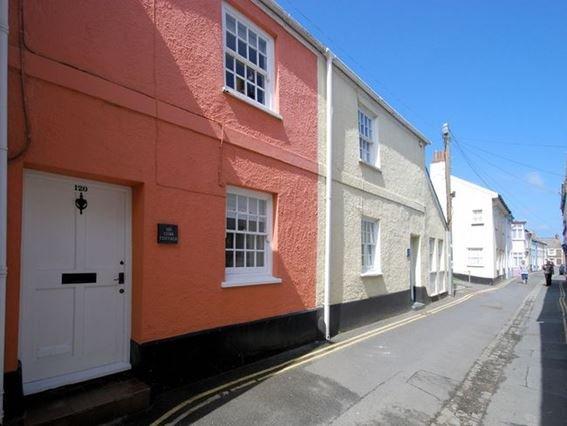 View towards the cottage - APCOB - Appledore - rentals