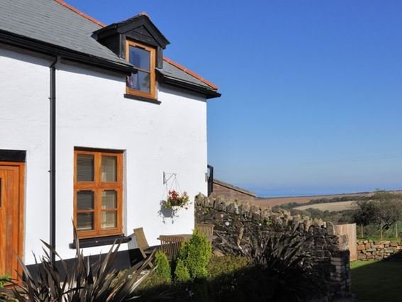 View towards the first floor apartment with views out to sea - HOUSM - Clovelly - rentals