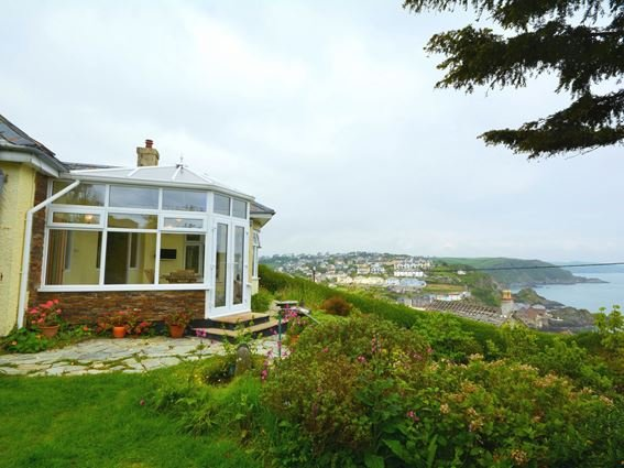View towards the property and coastline - KIAKA - Cornwall - rentals