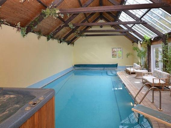Heated indoor pool and hot tub - MODGE - North Devon - rentals