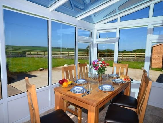 Enjoy the countryside views from the conservatory - GLAKE - Hartland - rentals