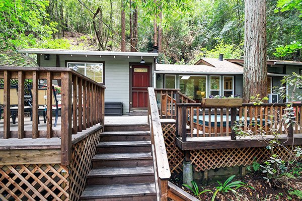 Above and Beyond, hillside home in Guerneville, Dog Friendly - Above And Beyond - Guerneville - rentals