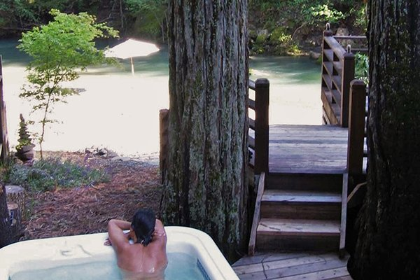 Sequoia Beach Dreamery, Hot Tub on Austin Creek - Sequoia Beach Dreamery - Cazadero - rentals