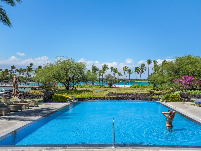Steps to Beach Family Friendly in Private Setting - Image 1 - Waikoloa - rentals