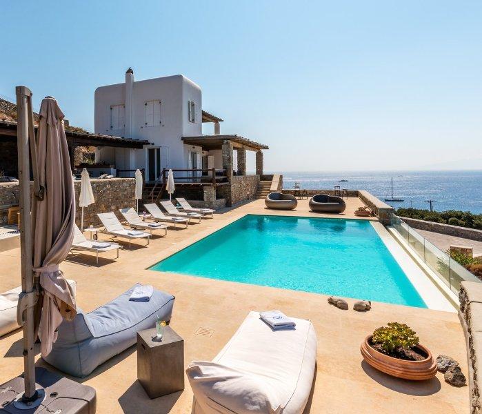 Blue Villas | Cecile Villa | Impeccable Style - Image 1 - Agios Ioannis - rentals