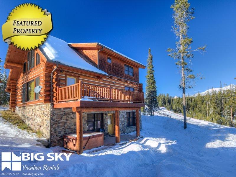 Big Sky Resort | Powder Ridge Cabin 4 Chief Gull - Image 1 - Gallatin Gateway - rentals