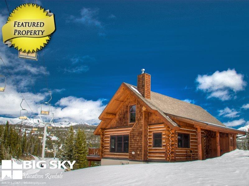 Big Sky Resort   Powder Ridge Cabin 9D Red Cloud - Image 1 - Big Sky - rentals