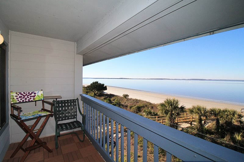 Savannah Beach & Racquet Club - Unit A318 - Panoramic Water Views - Smoking Permitted - Image 1 - Tybee Island - rentals