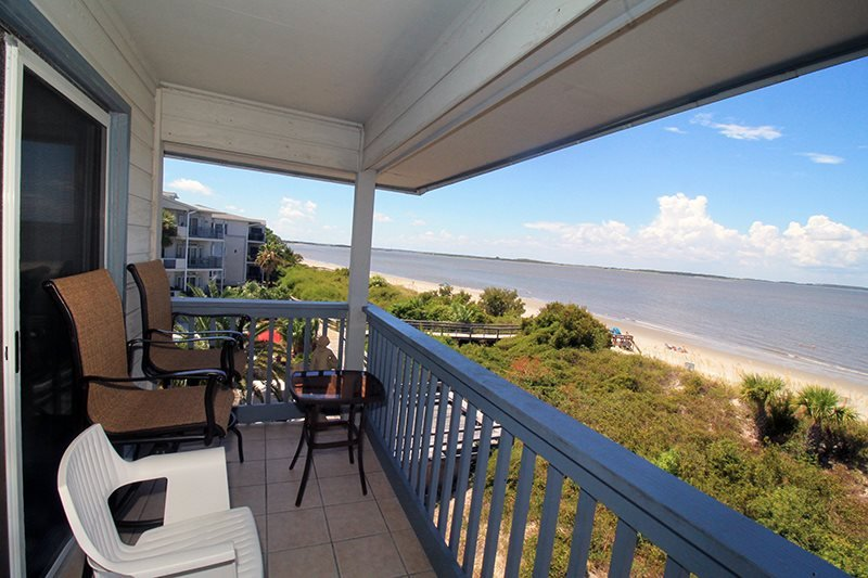 Savannah Beach and Racquet Club Condos - Unit B308 - Panoramic Water Views - Swimming Pool - Tennis - FREE Wi-Fi - Image 1 - Tybee Island - rentals