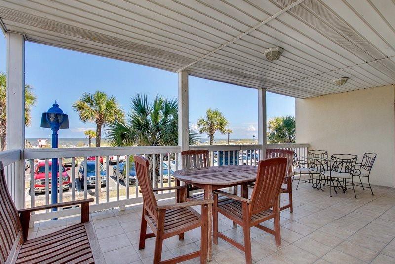 Dolphin Watch Condominiums Unit 1 - Ocean Front - FREE Wi-Fi - Image 1 - Tybee Island - rentals