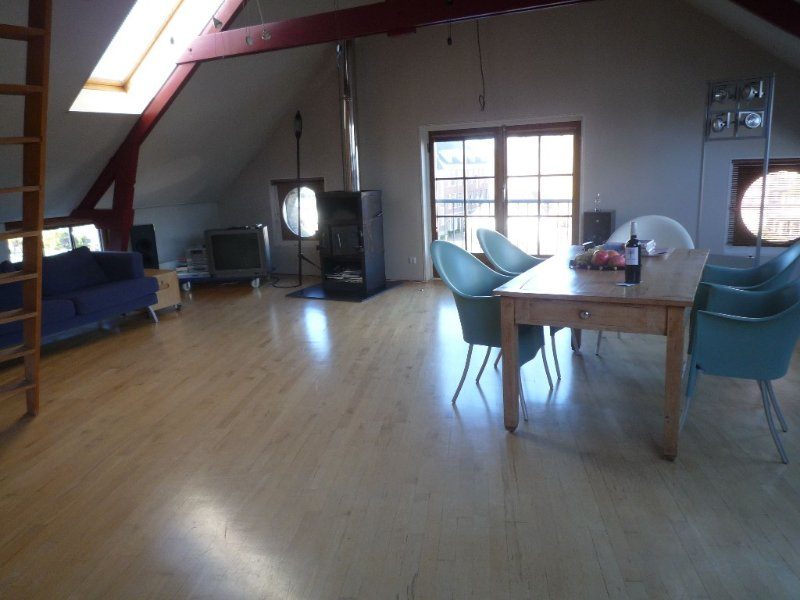 Monumental waterfront loft-apartment,with lovely view! - Image 1 - Amsterdam - rentals