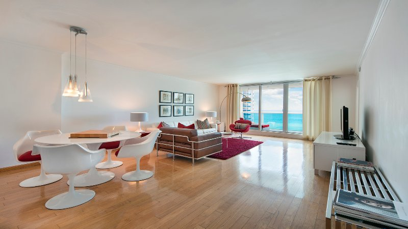 STUNNING DIRECT OCEAN CORNER CONDO ON SOUTH BEACH - Image 1 - Miami Beach - rentals