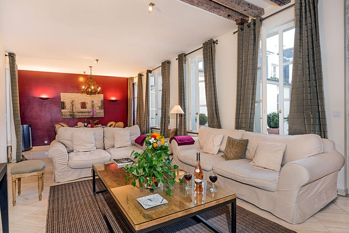 Spacious Luxury Two Bedroom in the Heart of St. Germain - ID# 329 - Image 1 - Paris - rentals