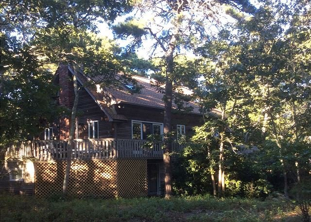 Vineyard Style House in Quiet Woods, Near Beaches & Downtown - Image 1 - Edgartown - rentals