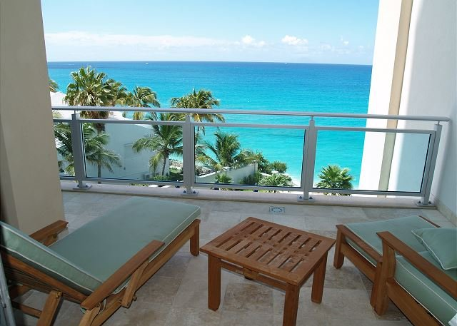 Balcony - Beautiful Apartment & View! 3 Bedroom - Lots of Space! Stay 7 Pay 6 - Saint Martin-Sint Maarten - rentals
