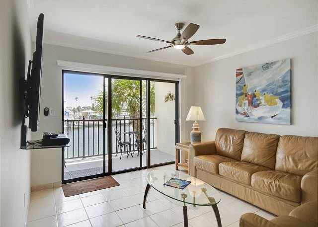 Living Room - Land's End #302 building 3 - Bay Front - Treasure Island - rentals