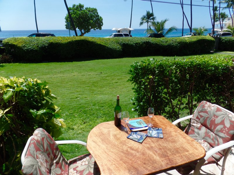 Direct View of the Ocean and Magic Sands Beach. Hang on the Lanai anytime for the Beach Vibe. - Best Beach - Kailua-Kona; BodySurf; Snorkel; WiFi - Kailua-Kona - rentals