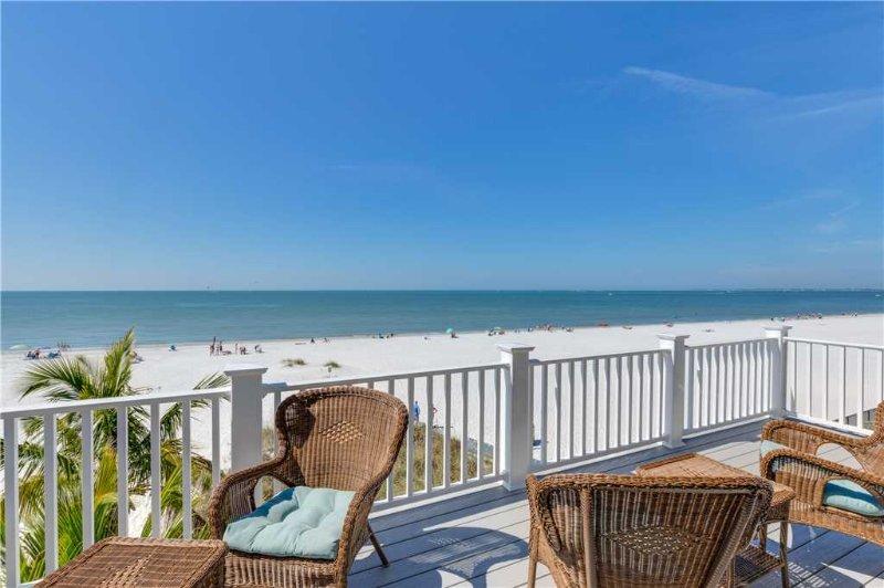 Island Girl, 5 Bedrooms, Gulf Front, Elevator, Heated Pool, Sleeps 10 - Image 1 - Fort Myers Beach - rentals