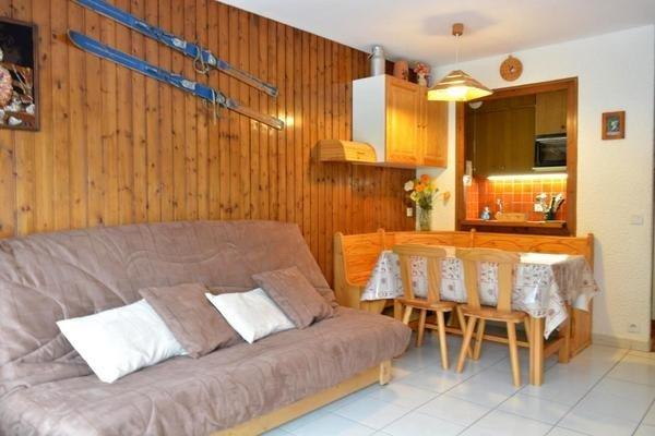 CHARVET Studio + sleeping corner 4 persons - Image 1 - Le Grand-Bornand - rentals