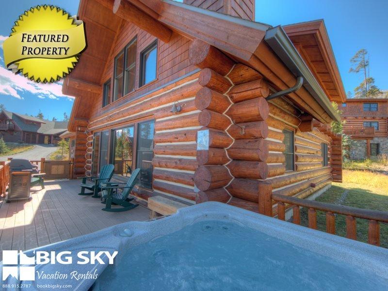 Big Sky Resort   Powder Ridge Cabin 21 Rosebud Loop - Image 1 - Big Sky - rentals
