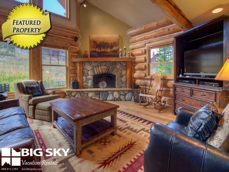 Big Sky Resort | Powder Ridge Cabin 3 Chief Gull - Image 1 - Big Sky - rentals