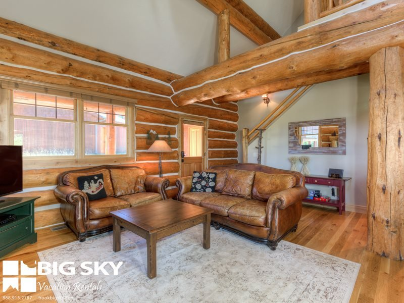 Big Sky Resort | Powder Ridge Cabin 7 Rosebud Loop - Image 1 - Big Sky - rentals