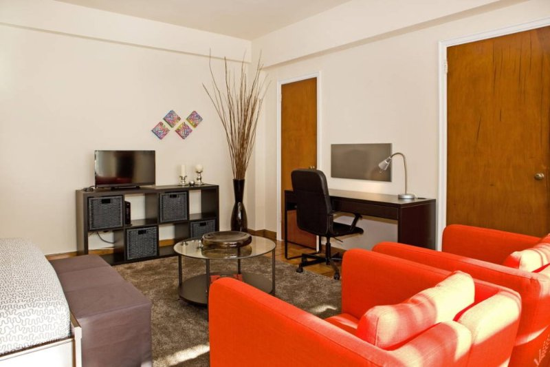 Furnished Studio Apartment at Massachusetts Ave NW & 17th St NW Washington - Image 1 - Washington DC - rentals