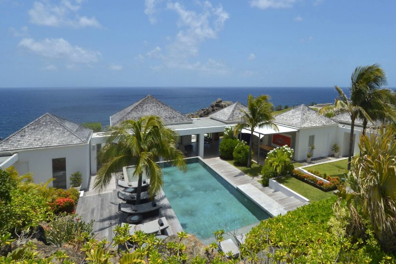 Luxury 6 bedroom St. Barts villa. Walk to the beach! - Image 1 - Petit Cul de Sac - rentals