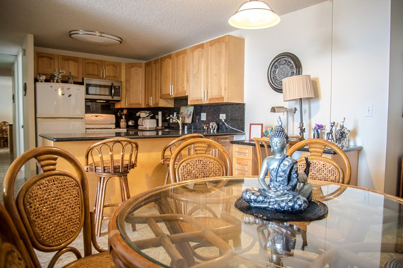 Kitchen Area - Waikiki Lanais/ 2 bedroom Oceanview - Honolulu - rentals