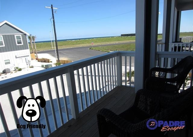 Private balcony with a great view - Come live the Island life at the All-New Padre Beach View! - Corpus Christi - rentals