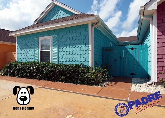 Entry to this colorful coastal getaway that is Pet-Friendly - Beautiful Key West Style 2/2 Cabana in a Great Location! - Corpus Christi - rentals