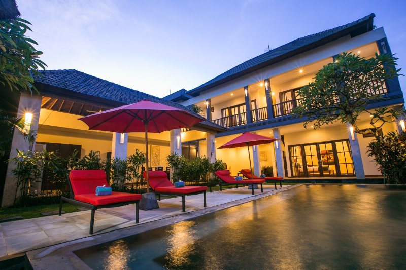 Your private pool villa at Sunrise - Villa Echo Beach: 250 mts to Echo Beach, priv.pool - Canggu - rentals